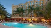 Residence Inn Anaheim Resort Area Garden Grove pool