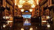 El vestíbulo principal de Disney's Animal Kingdom Lodge