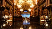 The main lobby of Disney's Animal Kingdom Lodge