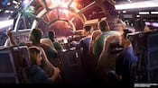 Star Wars Millennium Falcon Attraction Concept Art