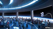 Mission Space Restaurant Concept Art
