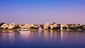 Une vue du Disney's Yacht Club Resort