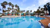 Área da piscina Surfboard Bay no Disney's All-Star Sports Resort