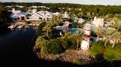 Mirada a vuelo de pájaro de Disney's Old Key West Resort
