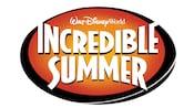 Logotipo do verão nos EUA incrível