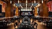La salle à manger du restaurant de sushi Kimonos à l'hôtel Swan de WaltDisneyWorld