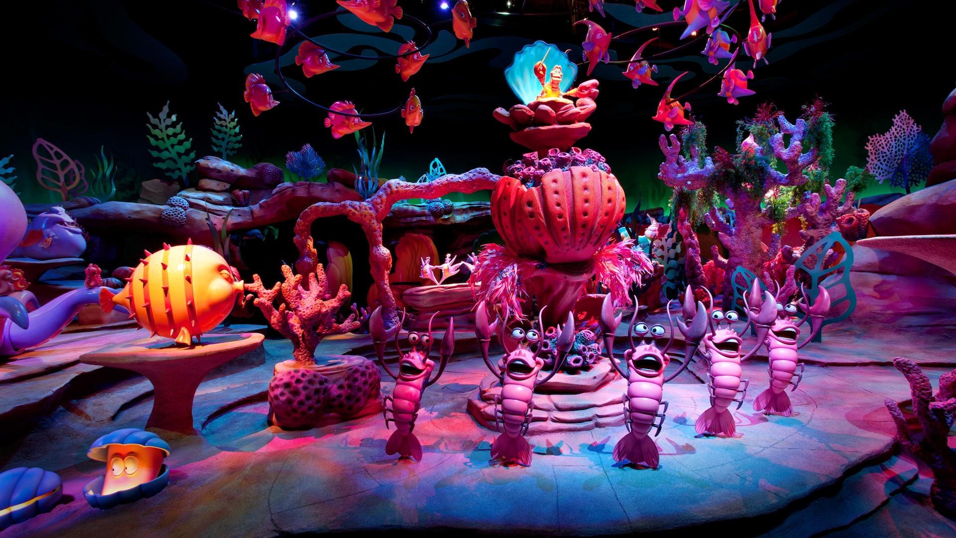 The Little Mermaid - Ariel's Undersea Adventure | California