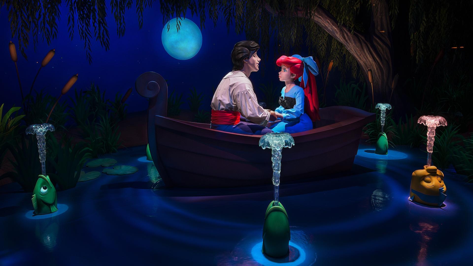 Disney Ariel Face Character