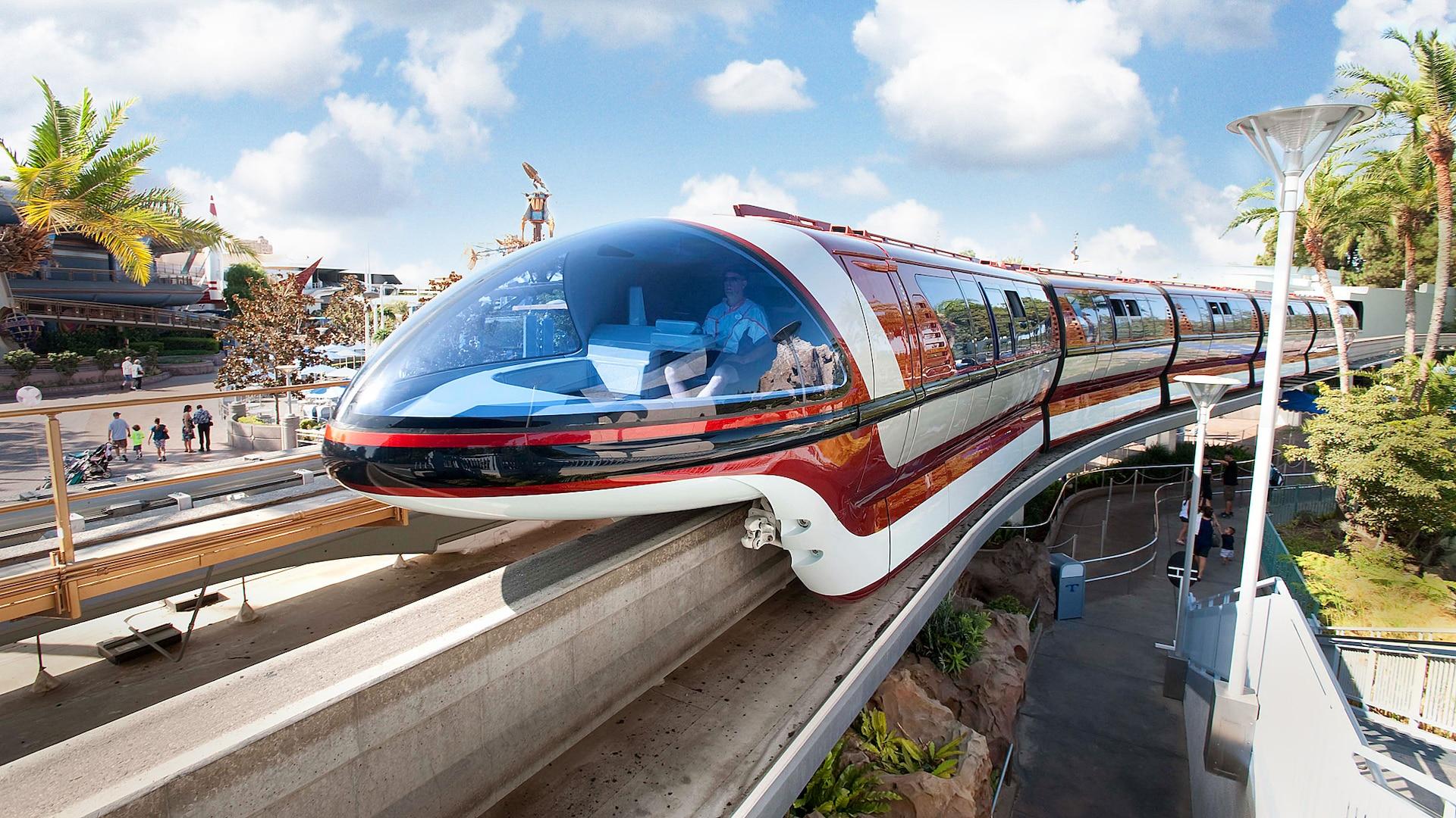 Disneyland Monorail   Rides & Attractions   Disneyland Park on