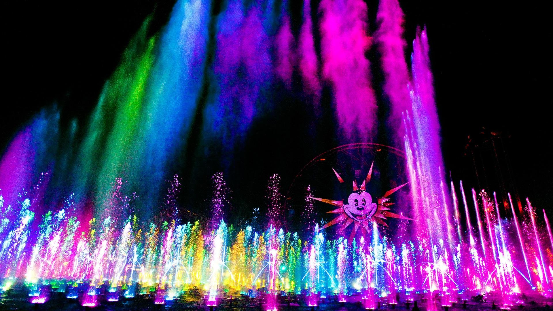 World Of Color Disneyland Resort