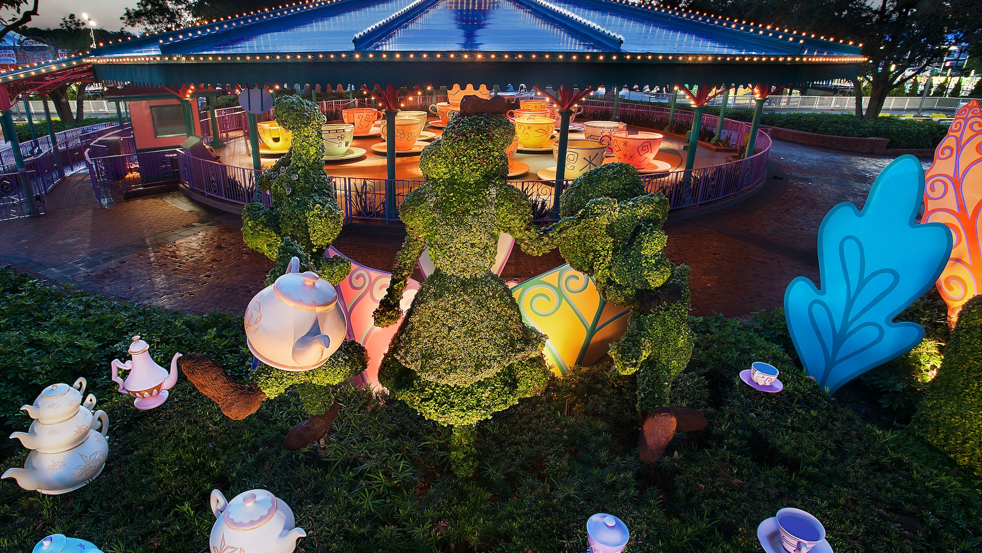 Mad Tea Party | Magic Kingdom Attractions | Walt Disney World Resort