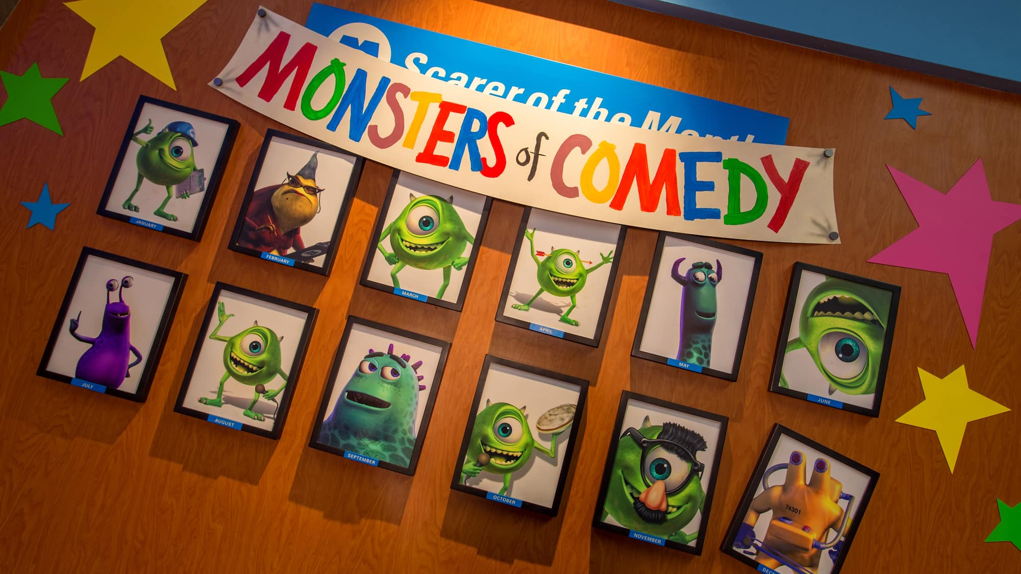 Monsters, Inc Laugh Floor