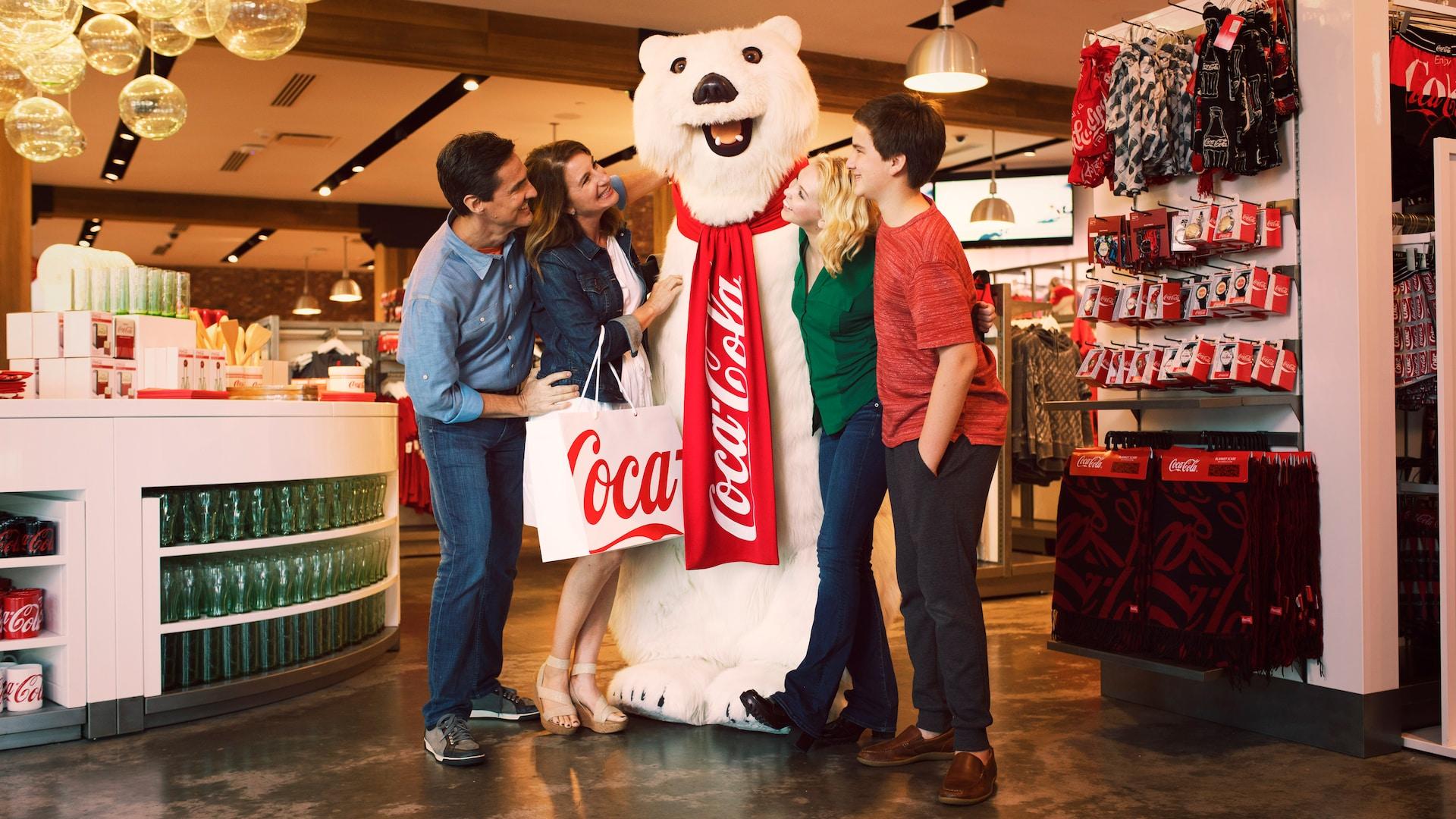 Urso Polar da Coca-Cola no Disney Springs