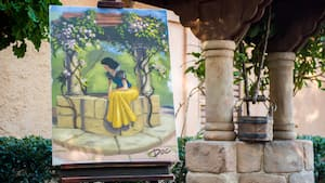 A painting of Snow White