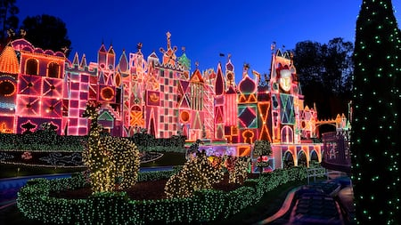 """it's a small world"" Holiday Lighting"