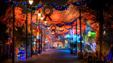 over at california adventure there is plenty to see and do in terms of christmas themes on classic rides entertainment food and plenty of holiday decor - When Does Disneyland Decorate For Christmas 2018