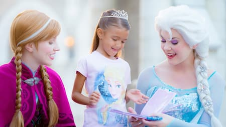 Frozen attractions entertainment merchandise walt disney world meet anna and elsa at royal sommerhus m4hsunfo