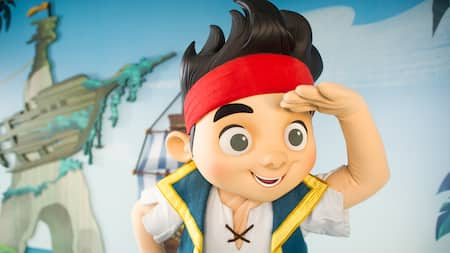Jake, de la serie animada Jake and the Netherland Pirates