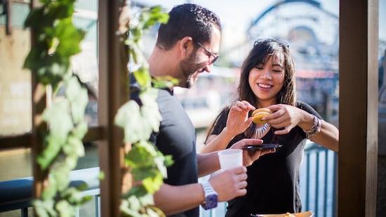AP Corner at the 2018 Disney California Adventure Food & Wine Festival