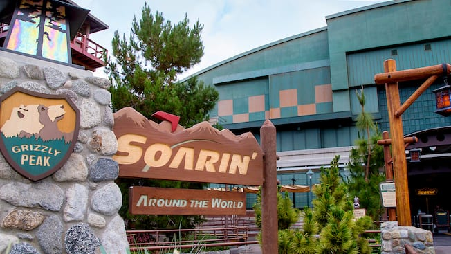 Soarin Disneyland Resort