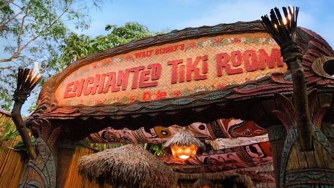Audio-Animatronics figure of a singing parrot named Pierre at Walt Disney's Enchanted Tiki Room