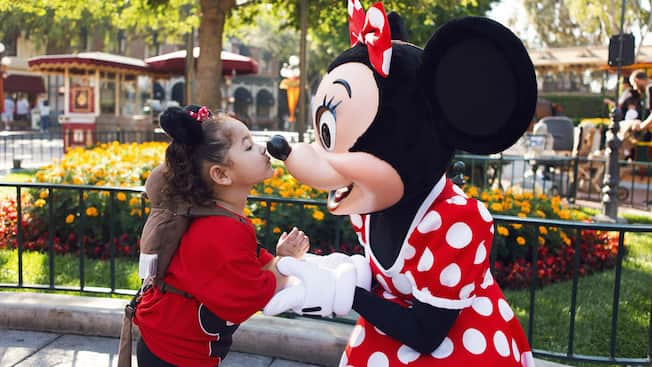 Minnie Mouse and Guest