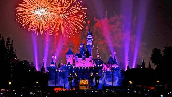 Image result for disneyland california fireworks