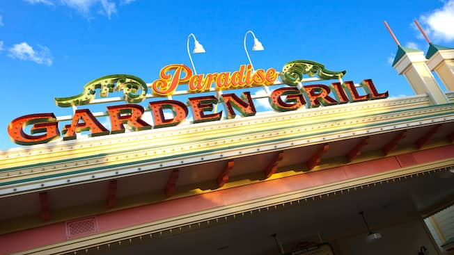 paradise garden grill - Garden Grill