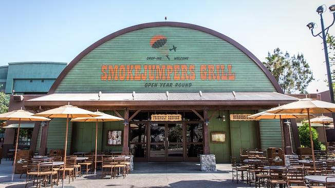Smokejumpers Grill Dining Disneyland Resort