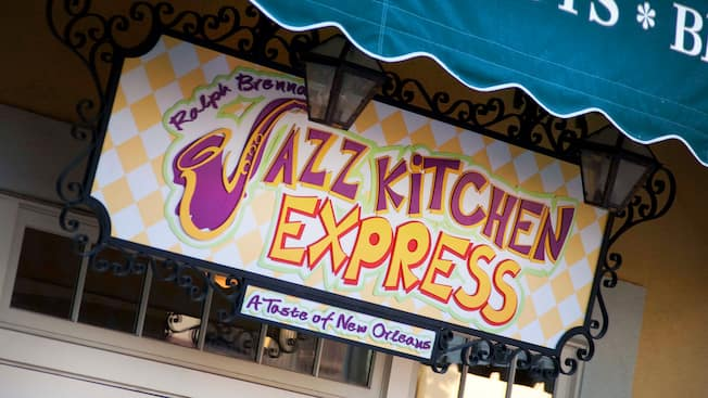 sign for ralph brennans jazz kitchen express a taste of new orleans - Kitchen Express