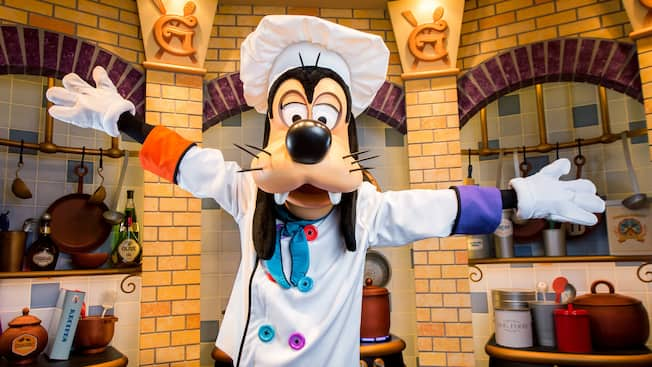 Image result for disneyland goofy's kitchen