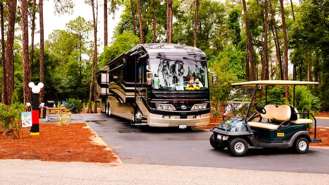 Golf Cart Rental | Walt Disney World Resort Disney World Campground Map on