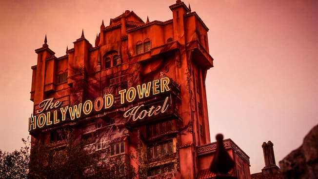 The Twilight Zone Tower of Terror Hollywood Studios Attractions