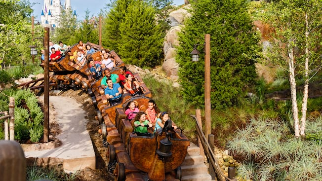 Image result for magic kingdom seven dwarfs mine train