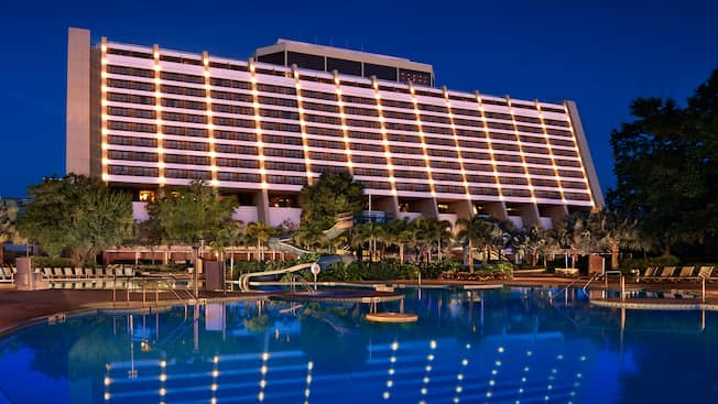 Pools At Disney S Contemporary Resort