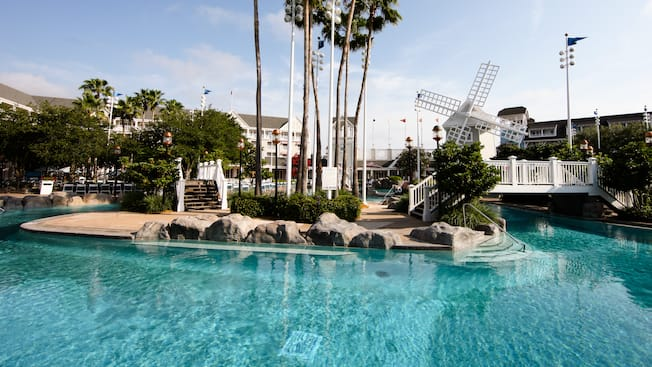Pools At Disney S Yacht Club Resort