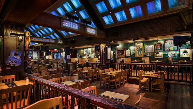 Dining area of Crossroads at House of Blues® at Downtown Disney