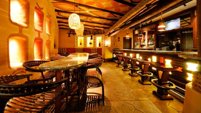 Sanaa Lounge | Walt Disney World Resort