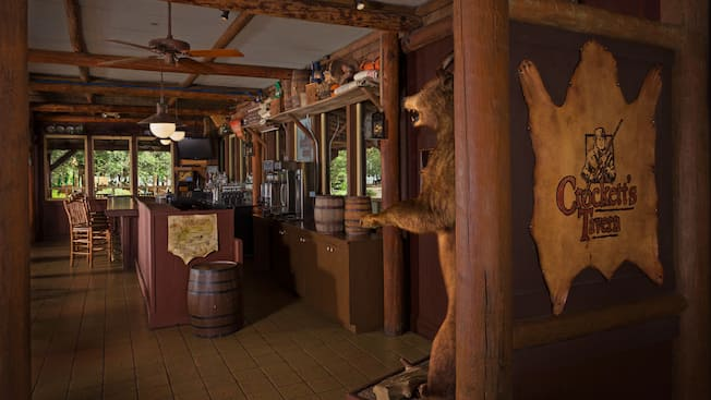Crockett 39 s tavern walt disney world resort for Fort wilderness cabins reservations