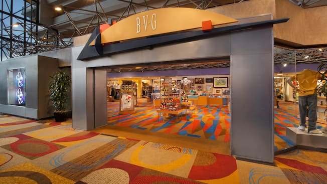 Frente de la tienda Bayview Gifts en Disney's Contemporary Resort