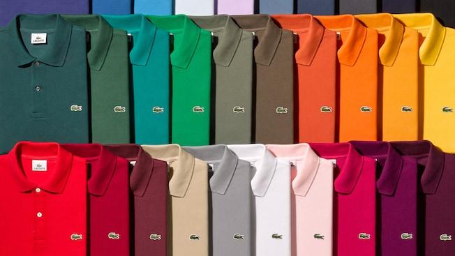 Una gran variedad de camisetas polo Lacoste