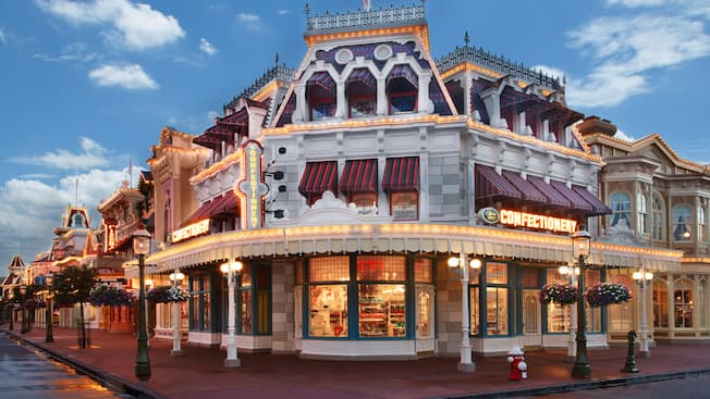 The Main Street Confectionery on Main Street, U.S.A. at Magic Kingdom park