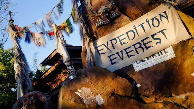 Expedition Everest | Animal Kingdom Attractions | Walt ...
