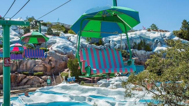 Chair Lift Blizzard Beach Attractions Walt Disney World Resort