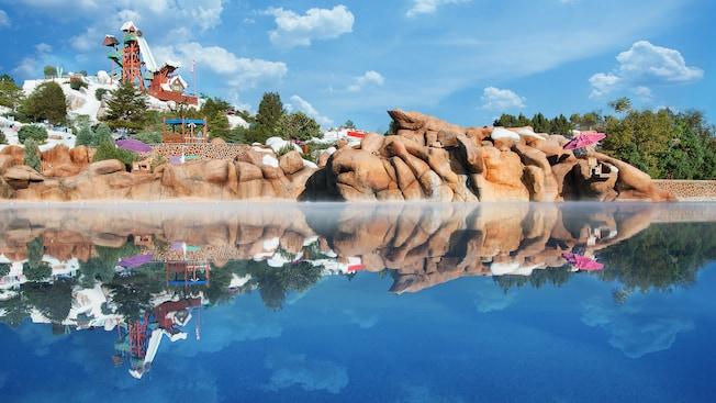 Melt Away Bay Blizzard Beach Attractions Walt Disney World Resort