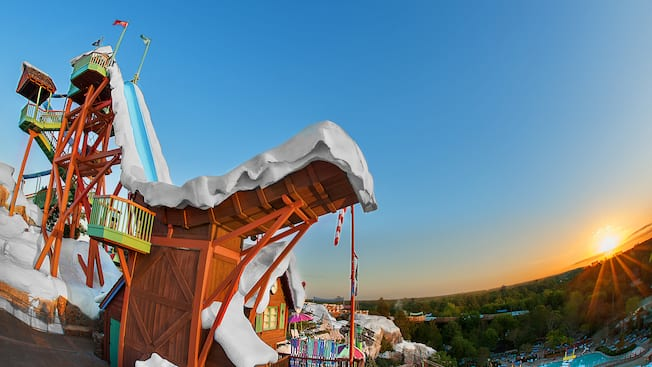 Summit Plummet Blizzard Beach Attractions Walt Disney World Resort