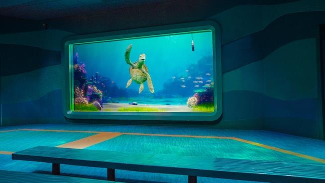 turtle talk with crush epcot attractions walt disney world resort. Black Bedroom Furniture Sets. Home Design Ideas