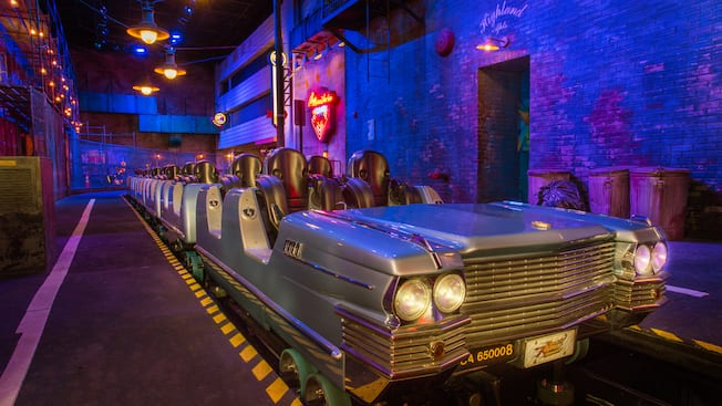 Rock N Roller Coaster 174 Starring Aerosmith Hollywood