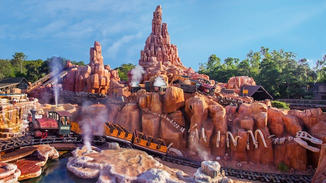 Big Thunder Mountain Railroad Walt Disney World Resort