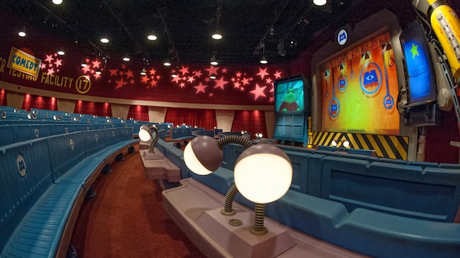 Monsters Inc Laugh Floor Walt Disney World Resort